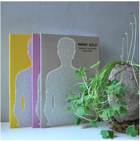 livrets 1, 2 et 3 - textes et partitions de Mano Solo
